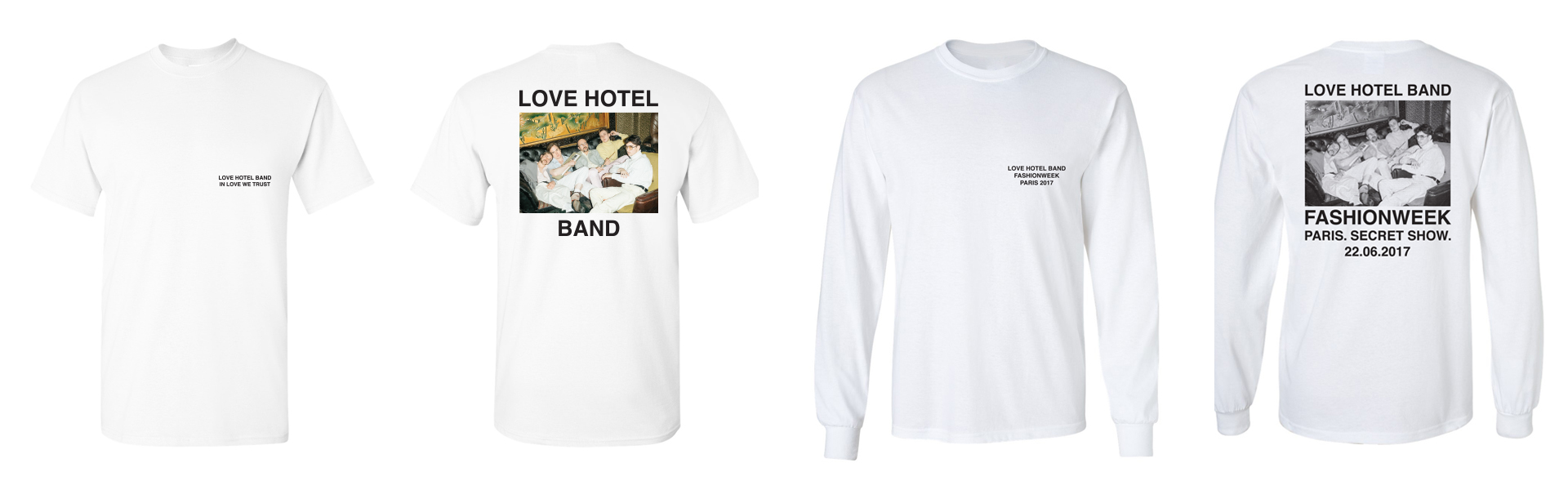 Love Hotel Band Merchandise